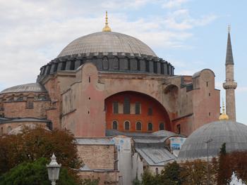 Picture of Hagia Sophia in Istanbul