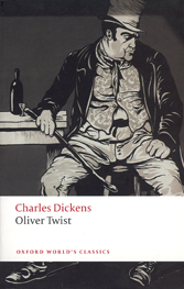 picture showing the book cover for oliver twist... with bill sikes sitting grimly on a chair staring at the floor