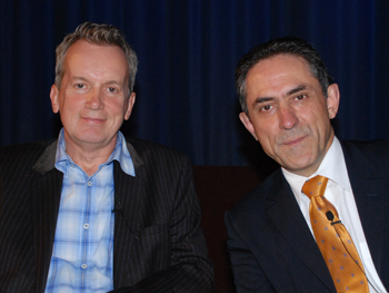 Photo of Frank Skinner and Jack Valero