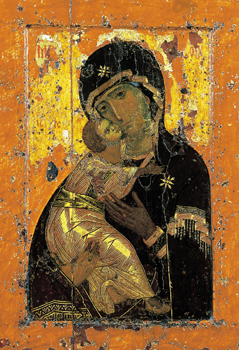 Picture of the Virgin of Vladimir icon