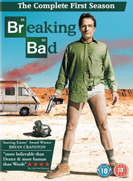 Photo of Breaking Bad DVD season 1