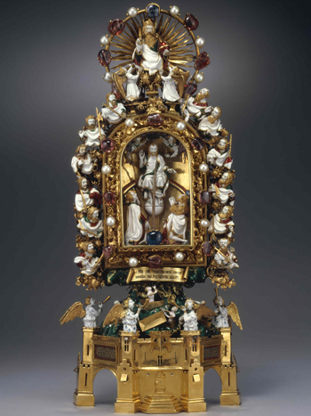 Reliquary containing a thorn from the crown of thorns... supposedly