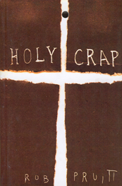 Picture shows the front cover of Holy Crap