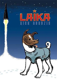 Picture of the cover of Laika, a graphic novel