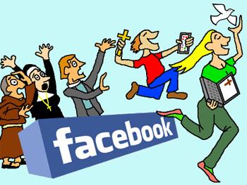 St Pixels invades Facebook