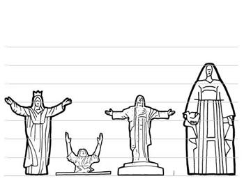 statues_lineup.jpg width=350 height=263