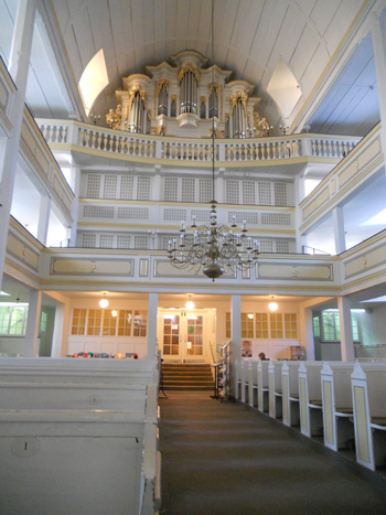 Photo of the Bach Church in Arnstadt