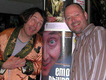 Photo of Emo Philips and me