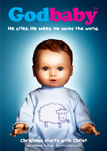 The Godbaby poster