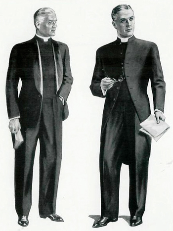Clergymen in the 1966 Vanheem catalogue