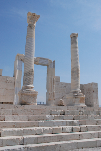 Photo of the temple in the Laodicea forum