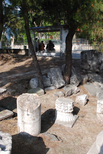 Photo of ruins in Thyatira