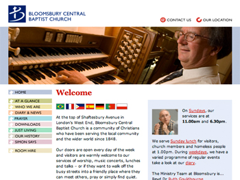bloomsbury central baptist church homepage