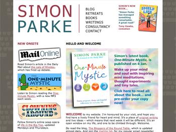 simon parke homepage