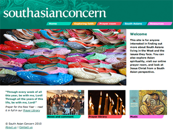 south asian concern homepage